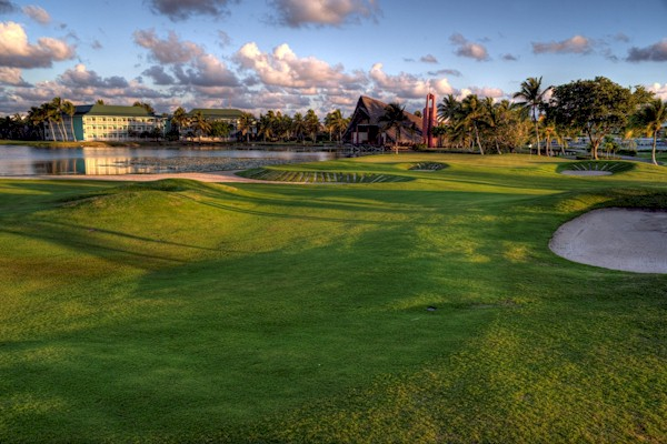 Bavaro Lakes golf course dominican republic