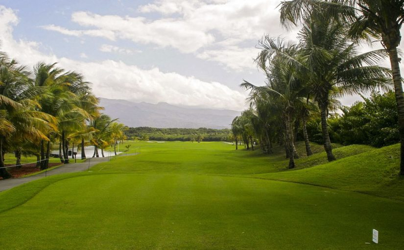 Coco Beach International golf course puerto rico