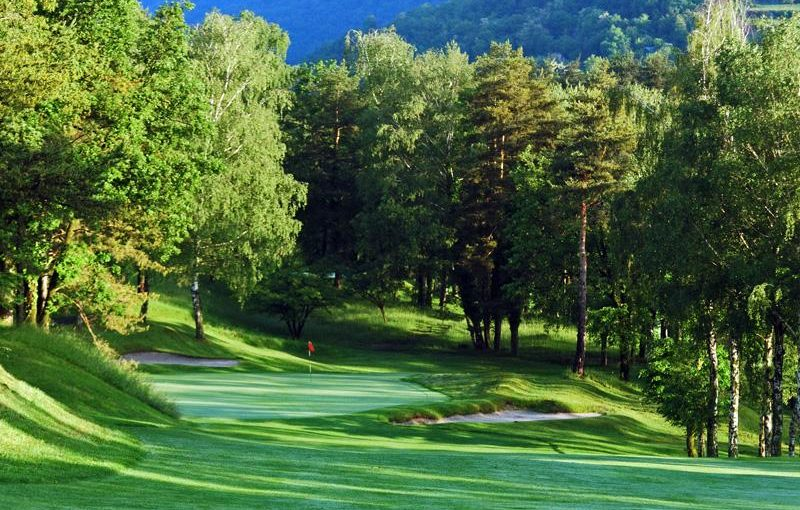Menaggio and Cadenabbia golf club , lake como