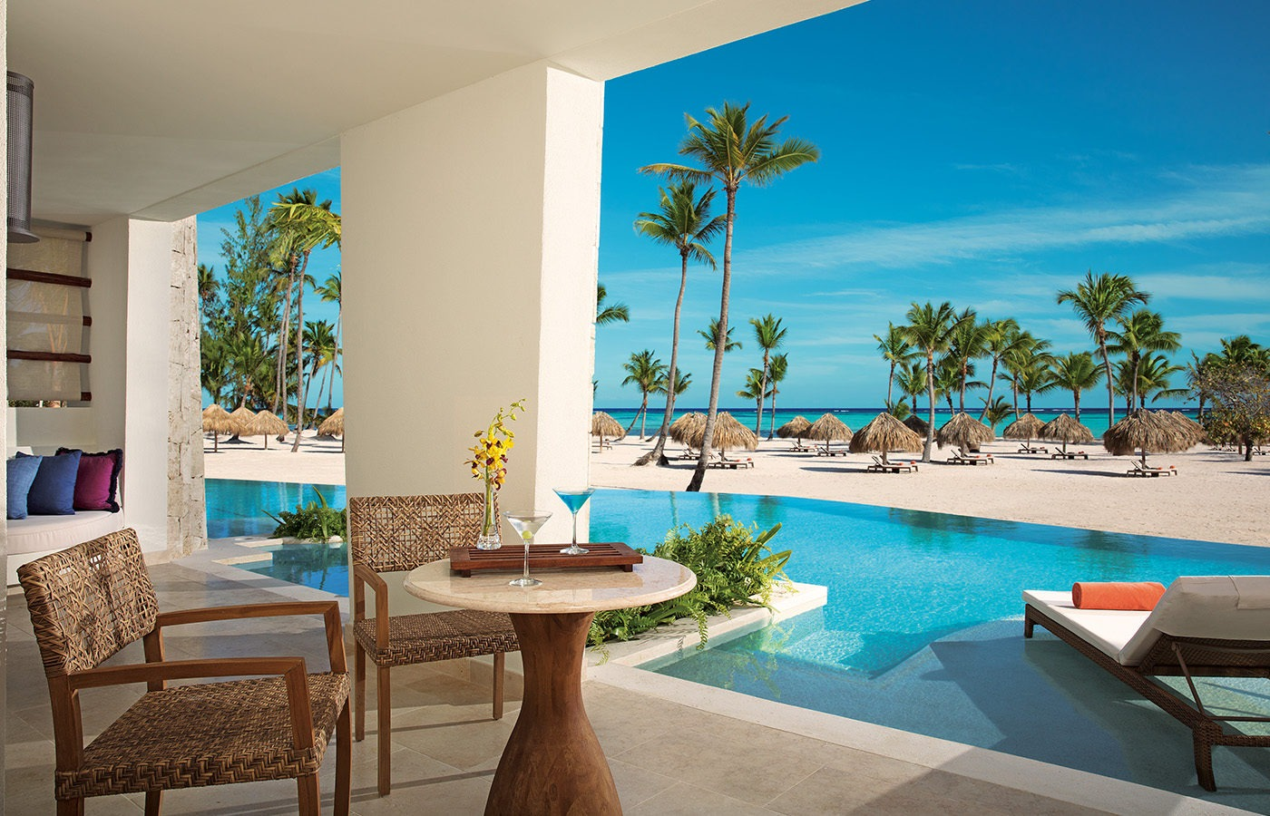 Secrets Cap Cana Golf Resort 3-pool view